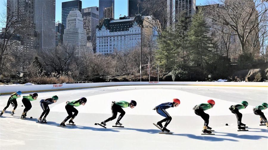 Team GSS Skates In Central Park